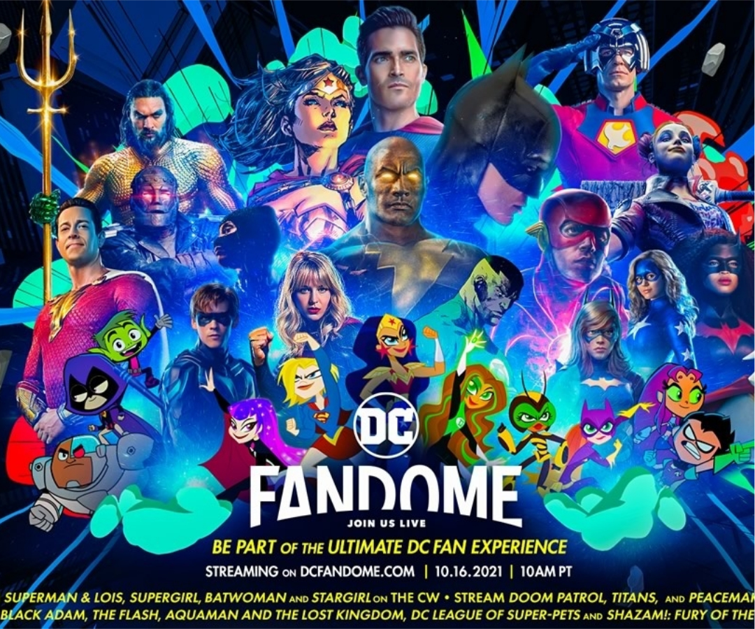 DC FANDOME | Tudo o que você precisa saber sobre o evento da Warner