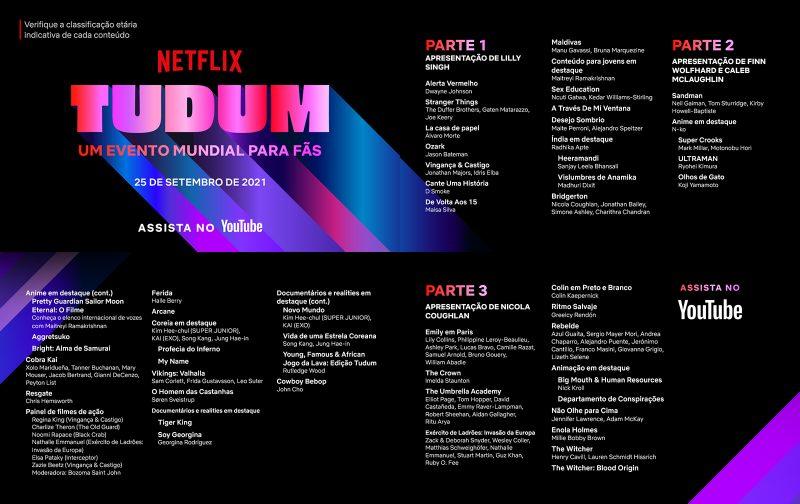 NETFLIX   TUDUM, seu evento mundial para fãs, acontece amanhã (25)