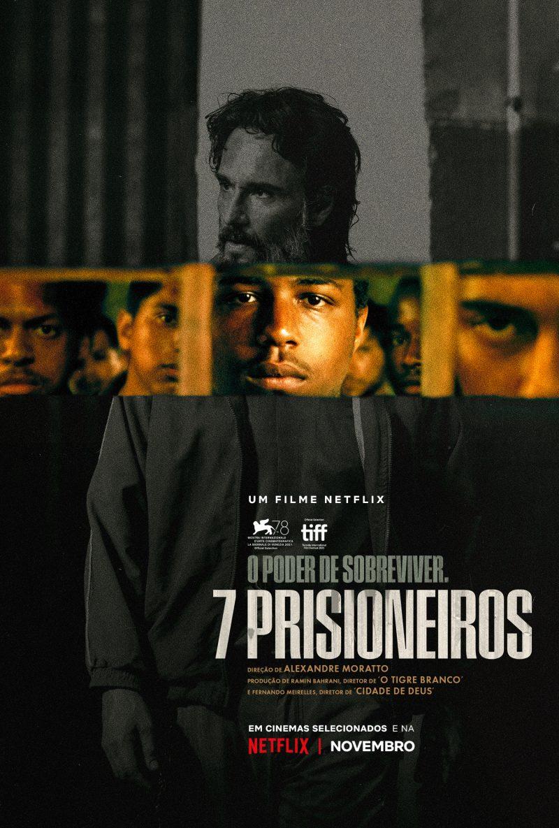 """NETFLIX   """"7 Prisioneiros"""" ganha data de estreia e cena inédita"""